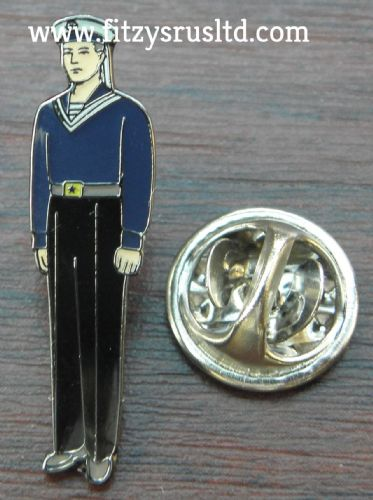 Navy Lapel Hat Tie Pin Badge Sailor Naval Armed Forces Souvenir Military Brooch